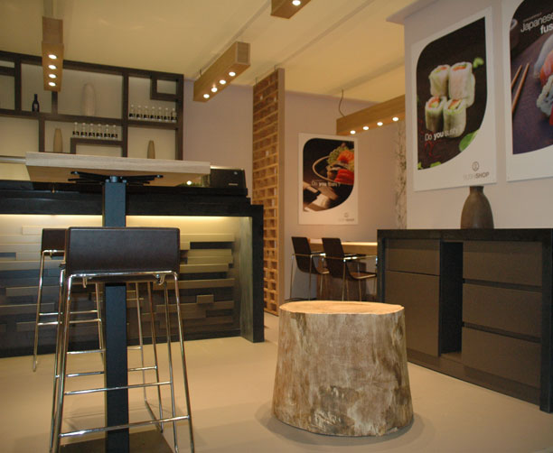 voo do interieurdesign en maatwerk sushi. Black Bedroom Furniture Sets. Home Design Ideas